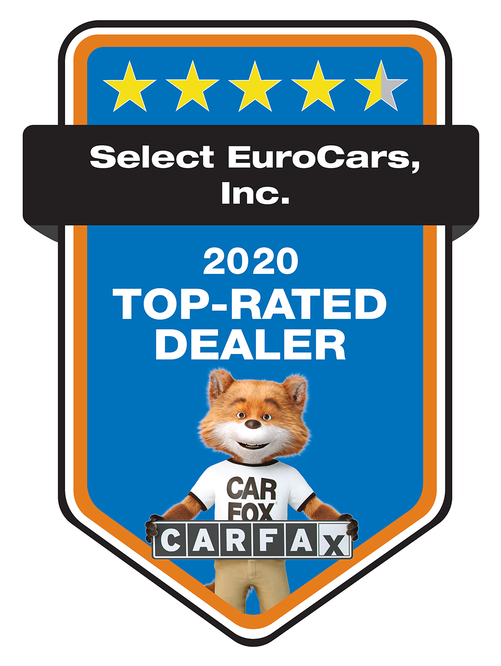 Select EuroCars, Inc. is a CARFAX Top Rated Dealer