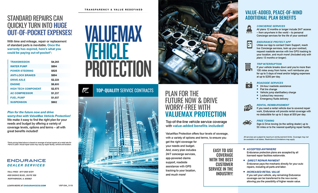 Valuemax Vehicle Protection